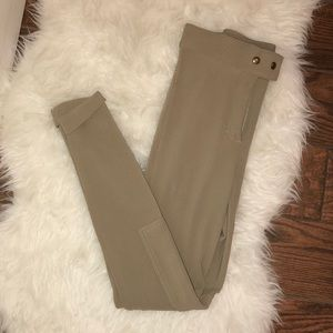 American Apparel taupe riding pants
